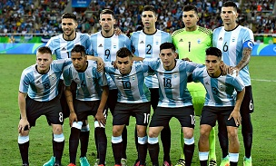 Argentina Olympic Lineup