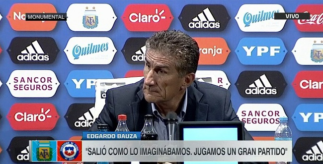 Edgardo Bauza Argentina press conference