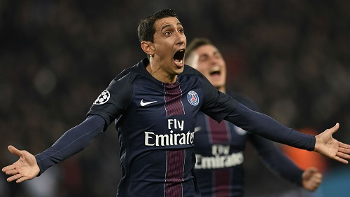 Angel Di Maria Celebration PSG