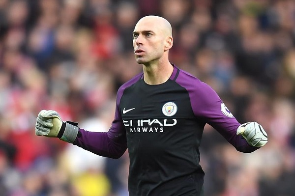 Willy Caballero Manchester City Chelsea