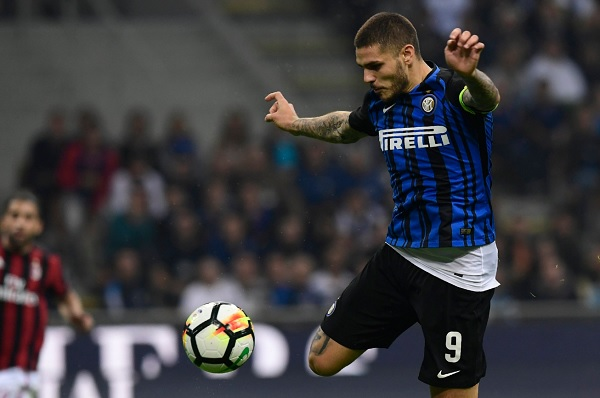 Mauro Icardi Inter derby