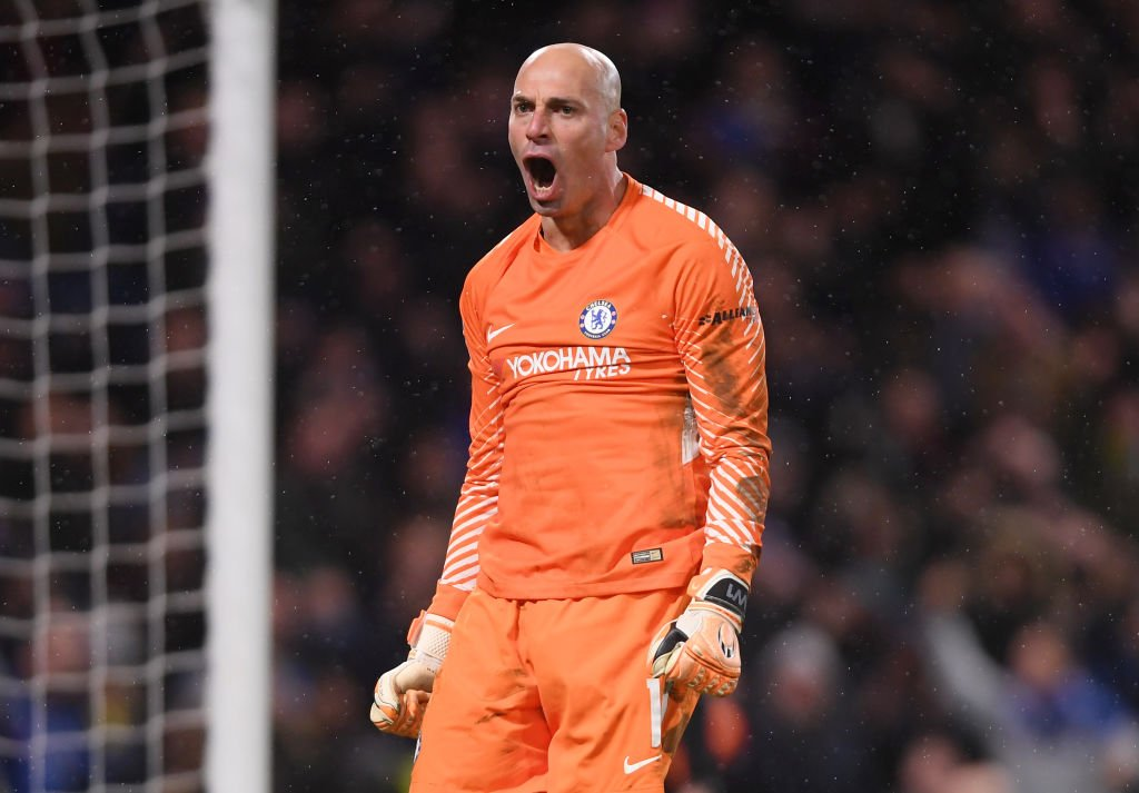 Image result for willy caballero chelsea