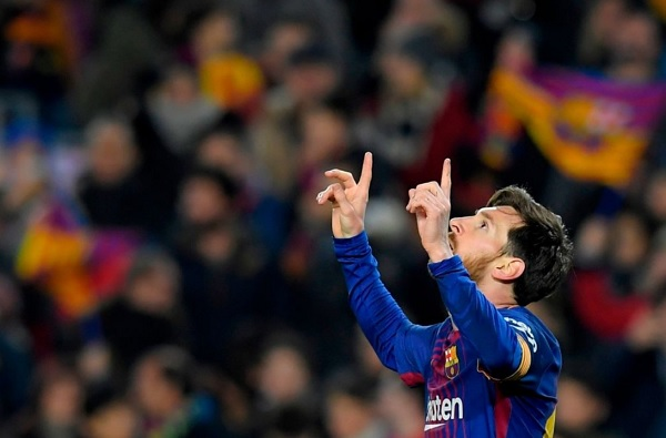 Lionel Messi 5 star performance Barcelona