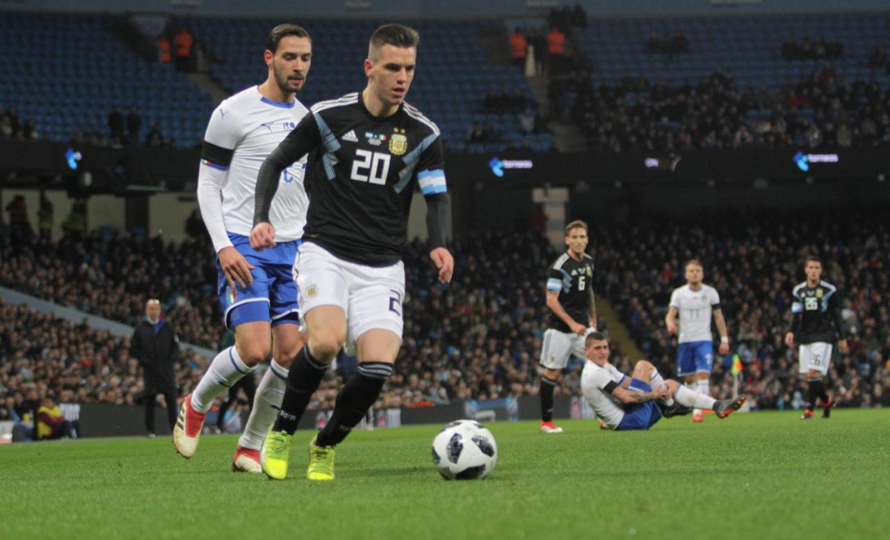 Giovani Lo Celso Argentina Italy