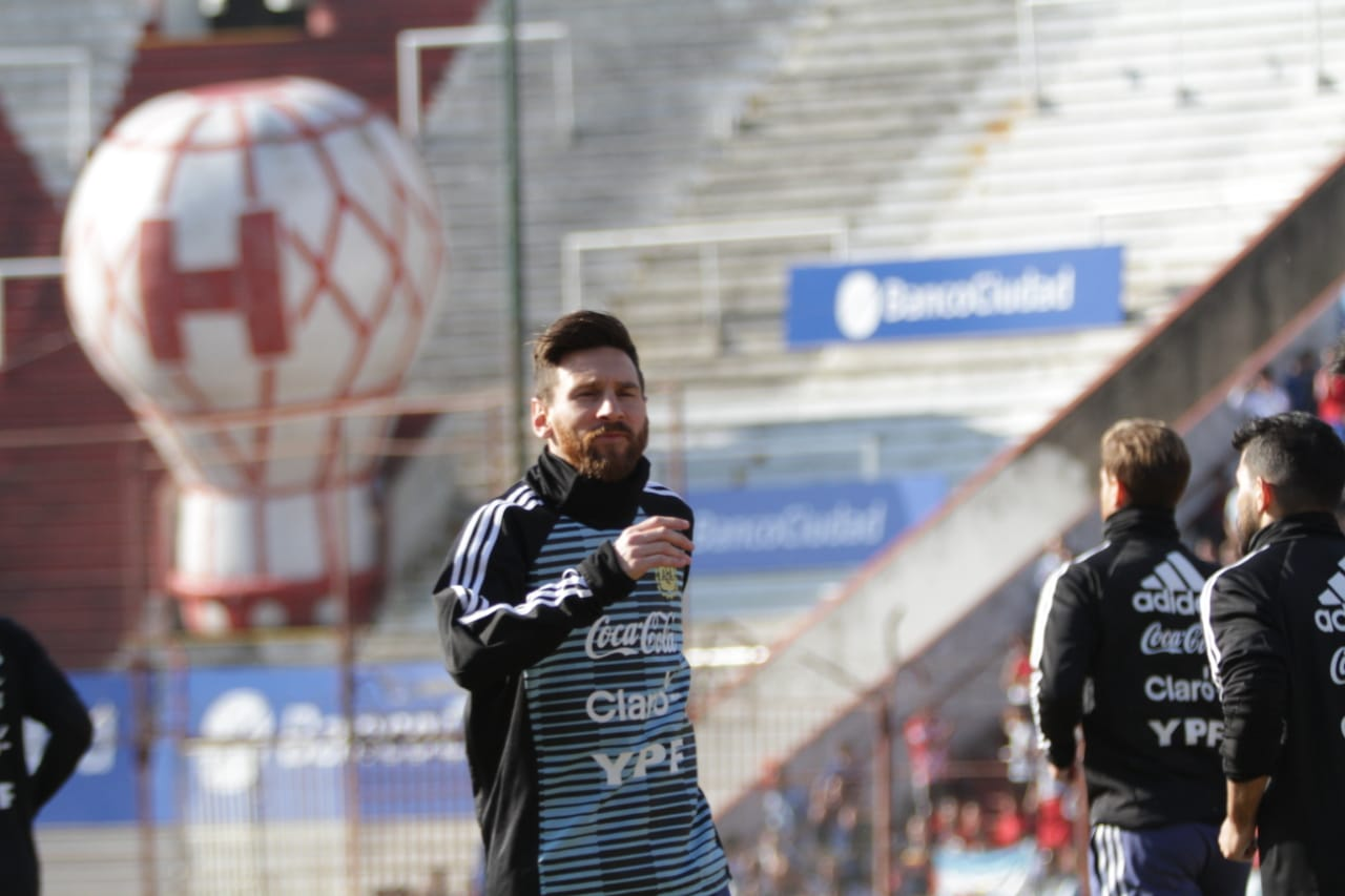 Argentina hoping it's Messi's year at World Cup