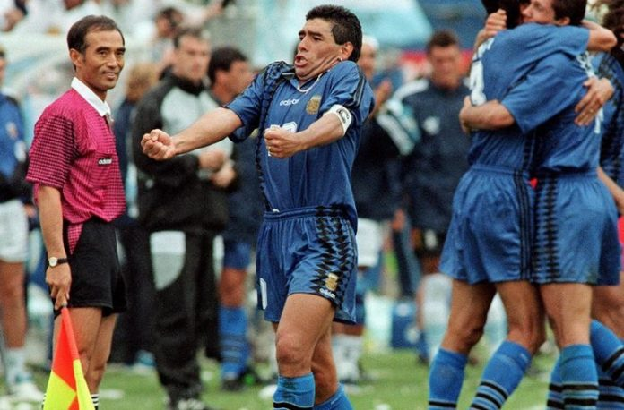 Diego Maradona 1994 World Cup