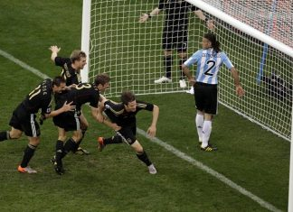 Germany Argentina 2010 FIFA World Cup