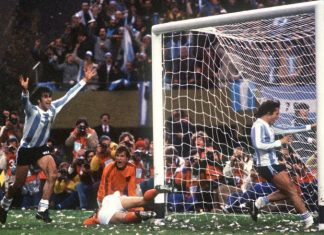 Mario Kempes Argentina World Cup