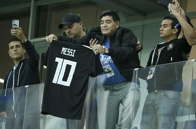 Messi should retire from Argentina duty - Maradona