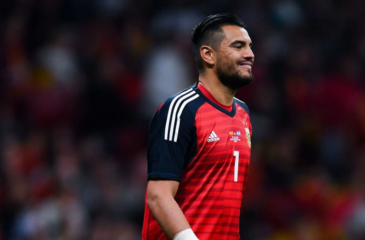 Sergio ROMERO Of Manchester United To Start For Argentina