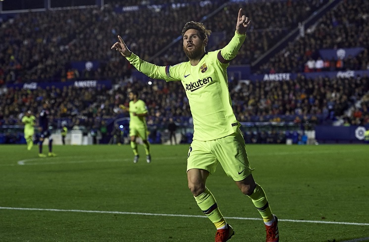 Barcelona wipe out Levante