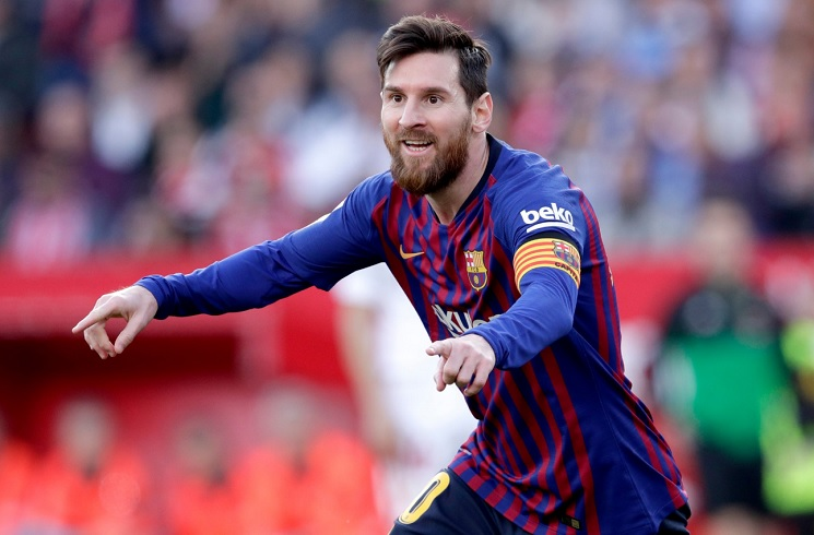 Messi nets 50th career hat-trick as Barcelona win at Sevilla