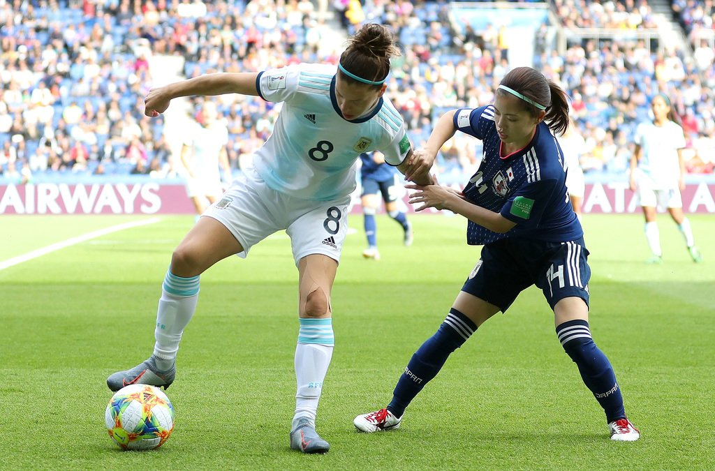 Dogged Argentina hold Japan to goalless draw in women's World Cup