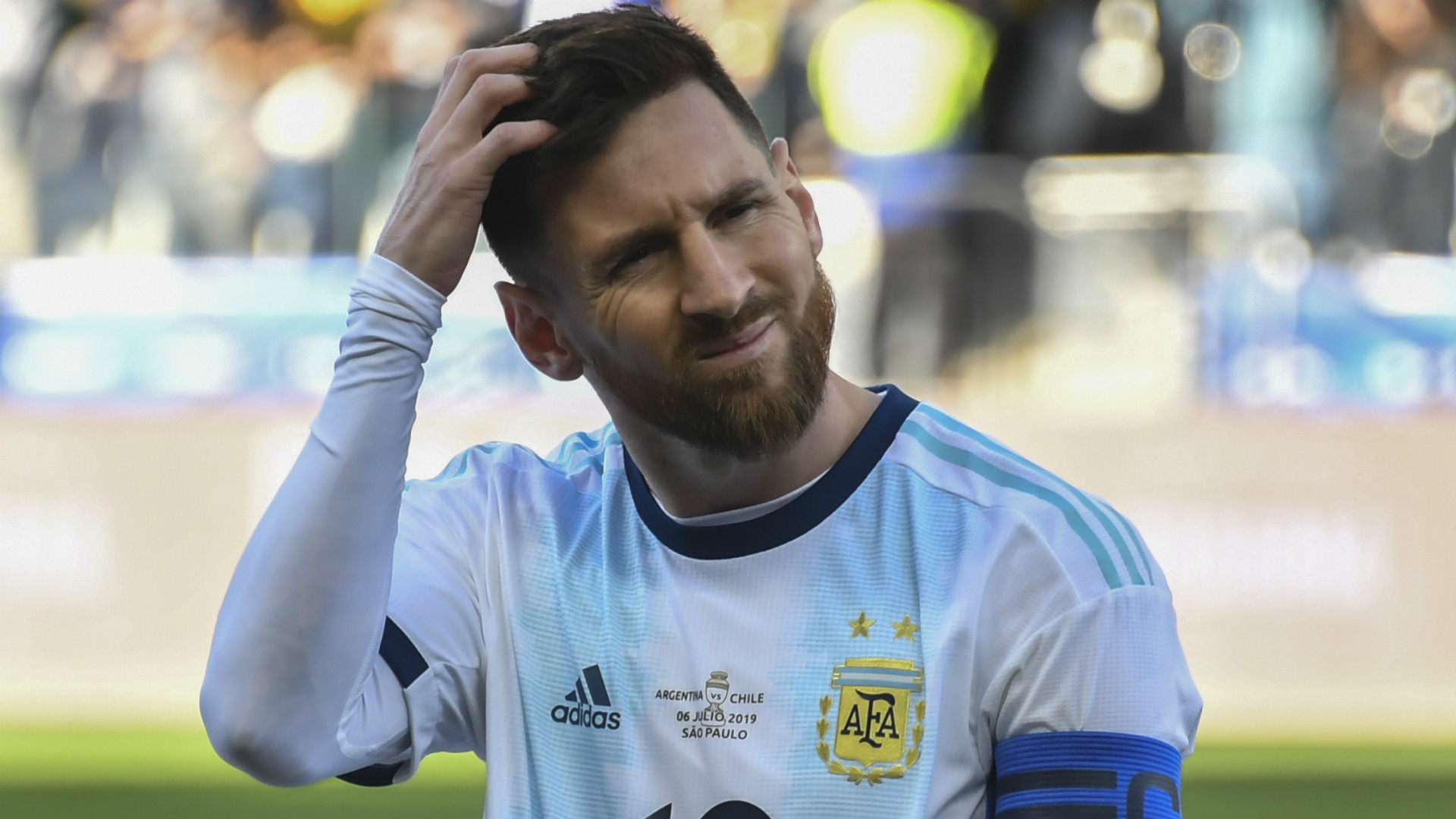 Lionel Messi fined and banned after Copa América incident