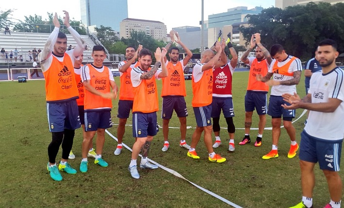Argentina Team Training