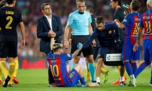 Lionel Messi injury