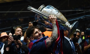 Lionel Messi Champions League
