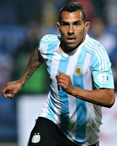 Carlos Tevez Argentina