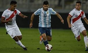 Sergio Aguero Peru