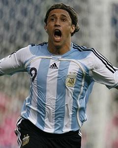 Hernán Crespo Argentina