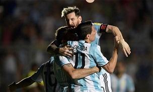 Lionel Messi Di Maria Pratto