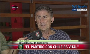 Edgardo Bauza Press
