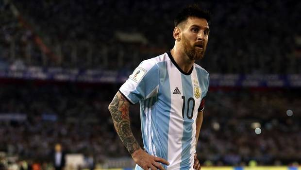Lionel Messi Argentina suspension