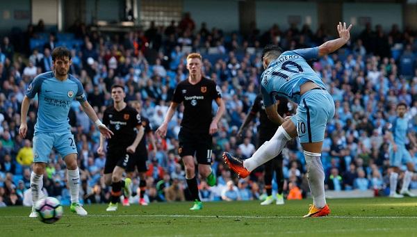 Sergio Aguero Manchester City goal
