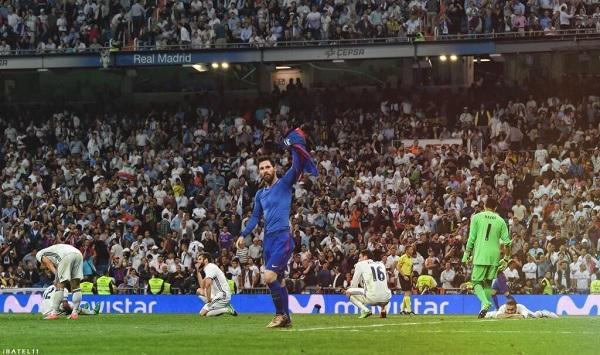 Lionel Messi goal Barcelona Real Madrid El Clasico