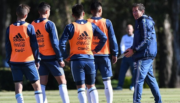Claudio Ubeda Argentina U20 team