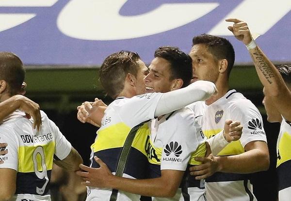 Gonzalo Maroni Boca Juniors Goal