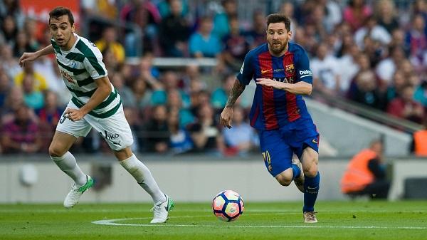 Lionel Messi FC Barcelona Eibar goal