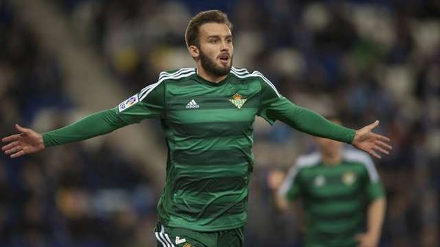 German Pezzella Real Betis