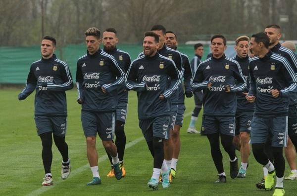Argentina starting eleven