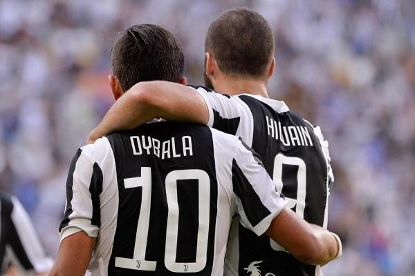 Paulo Dybala Gonzalo Higuain goals Juventus