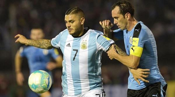 Mauro Icardi Argentina Uruguay