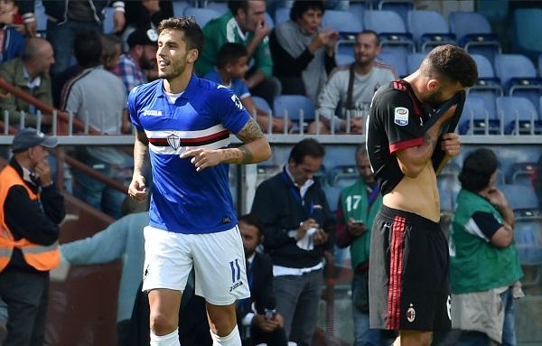Ricardo Alvarez Sampdoria AC Milan