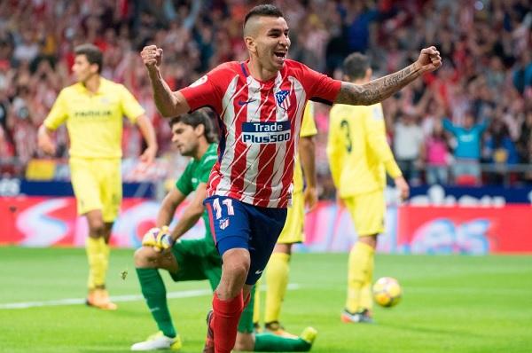 Angel Correa Atletico Madrid La Liga Villarreal