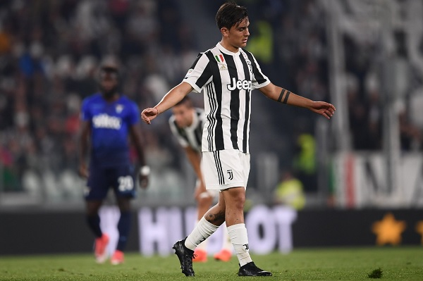 Paulo Dybala penalty miss Juventus
