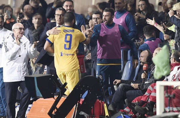 Gonzalo Higuain Juventus Goal