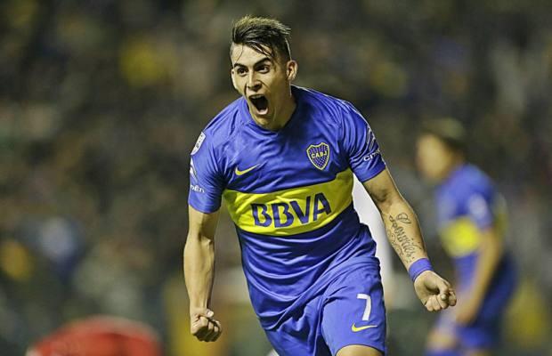 Cristian Pavon Boca Argentina