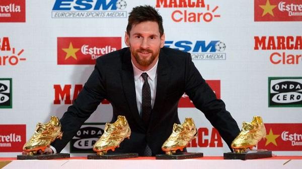 Lionel Messi wins Golden Boot