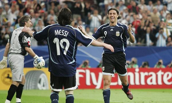 Hernan Crespo Messi