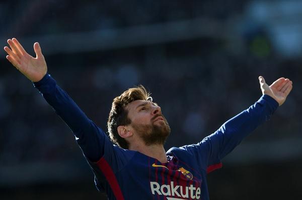 Lionel Messi FC Barcelona El Clasico