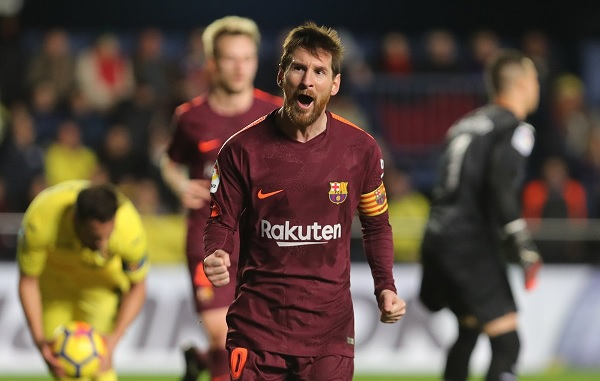 Lionel Messi FC Barcelona Villarreal