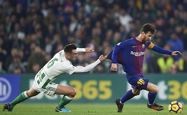 Lionel Messi masterclass Barcelona Real Betis
