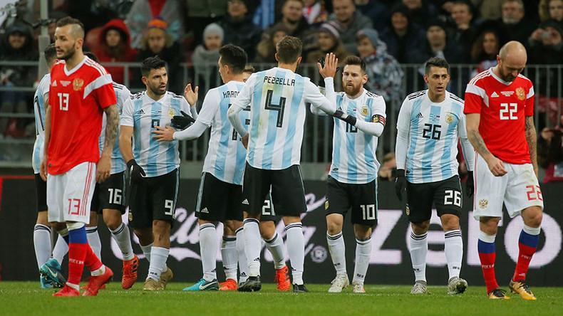 Argentina friendly match Israel