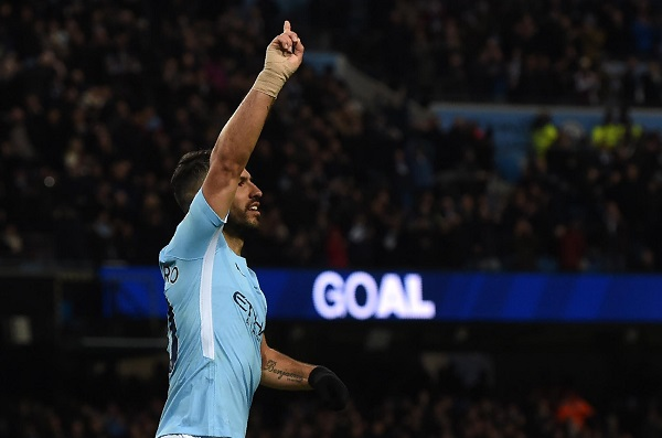 Sergio Aguero breaks EPL record Manchester City