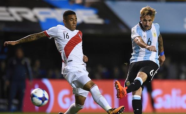 Lucas Biglia Argentina Peru