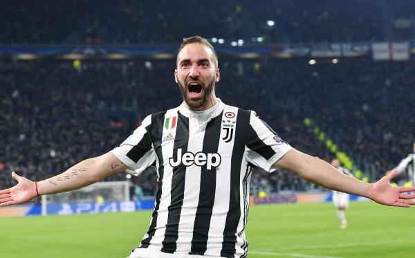 Gonzalo Higuain Juventus Champions League Review 1
